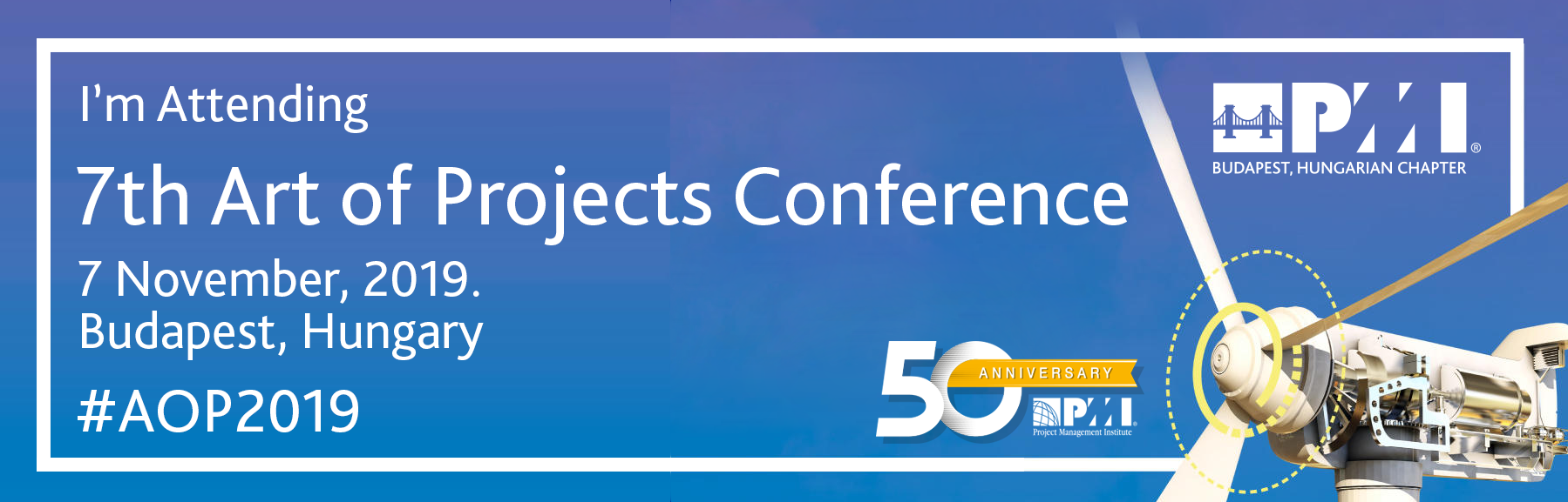 """PMI Budapest, Hungarian Chapter's """"7th Art of Projects"""
